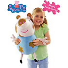 more details on Peppa Pig Muddy Puddles George 22 Inch Plush Soft Toy.