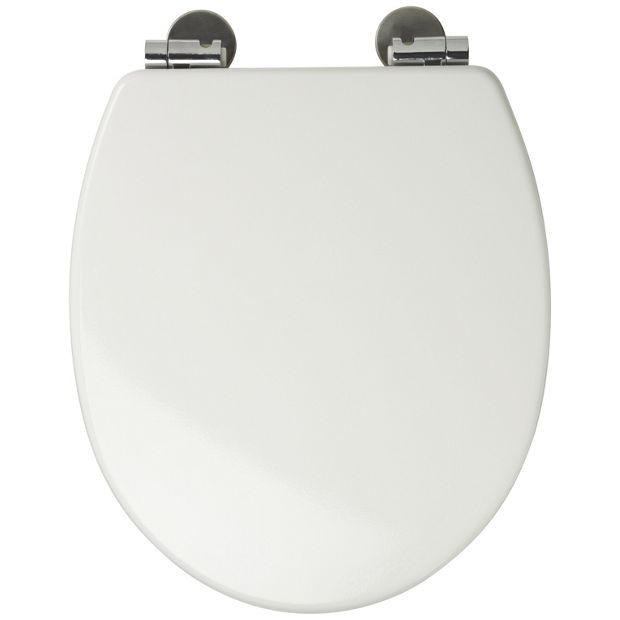 Bathroom Accessories Argos : Buy croydex sit tight dawson toilet seat white at argos