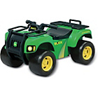 more details on John Deere Sit and Scoot ATV.
