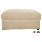more details on Heart of House Eton Fabric Storage Footstool - Mink.
