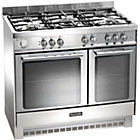 more details on Baumatic BCG925SS 90cm Gas Twin Range  Cooker - S Steel.