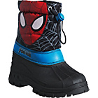 more details on Spider-Man Boys' Black Snow Boot - Size 9.