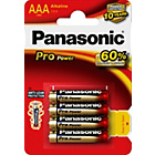 more details on Panasonic Pro Power AAA Batteries - 4 Pack.