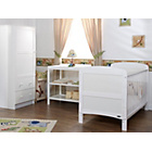 more details on Obaby Grace 3 Piece Nursery Furniture Set - White.