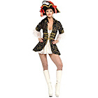 more details on Fancy Dress Secret Wishes Pirate Queen Costume - Size 12-14.