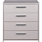 more details on Kids' New Sywell 4 Drawer Chest - White.