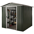 more details on Hercules Deluxe Apex Metal Shed and Floor Frame - 6x8ft.