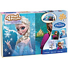 more details on Disney Frozen Set of 4 Jigsaw Puzzles in a Wood Case.