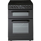 more details on Bush BETC60B Single Electric Cooker - Black/Ins/Del/Rec.
