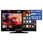 more details on Bush 24 inch HD Ready Smart TV with DVD Player - Black.