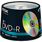 more details on TDK DVD+R Pack of 50 on a Spindle.