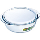 more details on Pyrex 2.3 Litre Glass Round Casserole Dish.