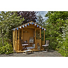 more details on Forest Hollington Wooden Summerhouse - 8 x 8ft.