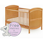 more details on Baby Elegance Walt Cot Bed, Mattress and Sheets.