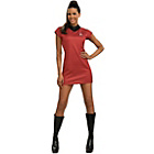 more details on Star Trek the Movie Ladies Red Dress Small 8-10.