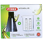 more details on Pyrex 250ml and 500ml Glass Lab Beaker and Shaker Set.