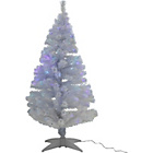 more details on White Fibre Optic Christmas Tree - 5ft.