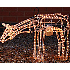 more details on Grazing Moving Reindeer Christmas Decoration Light.