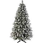 more details on Green Snow Covered Christmas Tree - 6ft.