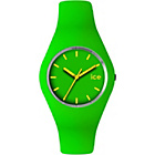 more details on Ice Watch Green and Yellow Silicone Strap Watch.
