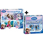 more details on Ravensburger Disney Frozen 4 in a box Puzzle & Mini Memory