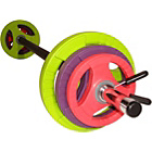 more details on Physical Company Pump Set - Black Bar and Coloured Discs.