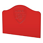 more details on Arsenal Single Headboard - Red.