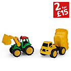 more details on Chad Valley Dump Trucks and Tractor Set.