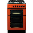 more details on Baumatic BCG520R 50cm Gas Twin Cooker - Red.