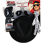 more details on Fancy Dress Michael Jackson Wig, Glove, Hat & Glasses Set.