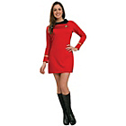 more details on Rubies Star Trek Uhura Red Dress Costume - Small.