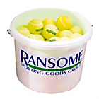 more details on Ransome Tennis Balls - Bucket of 60.