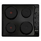 more details on Candy PLE64N Solid Plate Electric Hob - Black.