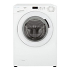 more details on Candy GV138D3W 8KG 1300 Spin Washing Machine - Ins/Del/Rec.