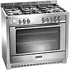 more details on Baumatic BCD905 Dual Fuel Range Cooker - Stainless Steel.