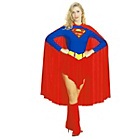 more details on Rubies Ladies Supergirl Costume - Large.