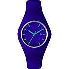 more details on Ice Watch Violet and Blue Silicone Strap Watch.