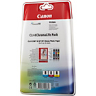 more details on Canon CLI8 Standard Ink Cartridges - Pack of 3.