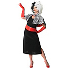 more details on Disney 101 Dalmations Ladies Cruella Devile Small 8-10.