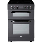 more details on Bush BUEDC60B Double Electric Cooker - Black/Ins/Del/Rec.