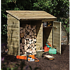 more details on Forest Garden Log and Tool Store.