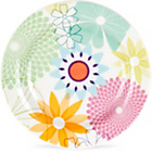 more details on Portmeirion Crazy Daisy 17.5cm Tea Plate 4 Piece Set.