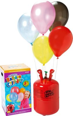 filling helium balloons at home