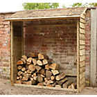 more details on Forest Garden Wall Log Store.