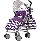 more details on Obaby Metis Plus Pushchair Bundle - ZigZag Purple.
