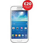 more details on Vodafone Samsung Galaxy S4 Mini Mobile Phone - White.