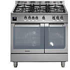 more details on Hoover HGD9395IX Dual Fuel Range Cooker - Stainless Steel.