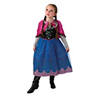 more details on Frozen Anna Light Up and Musical Dress Up.