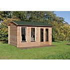 more details on Forest Chiltern Wooden Log Cabin - 14 x 12ft.