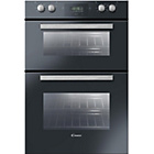 more details on Candy FDP6109NX Electric Double Oven - Black.